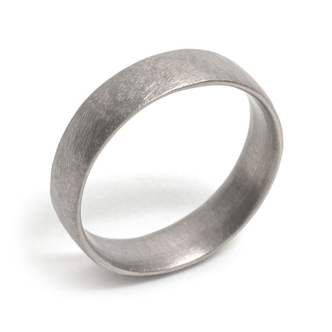 Gentle File Mark Wedding Ring