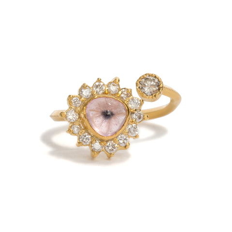 Pink Eye Ring by Nina Oikawa
