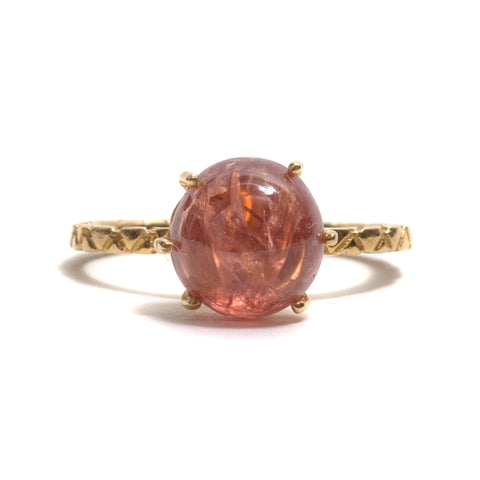 Pebble Spinel Ring