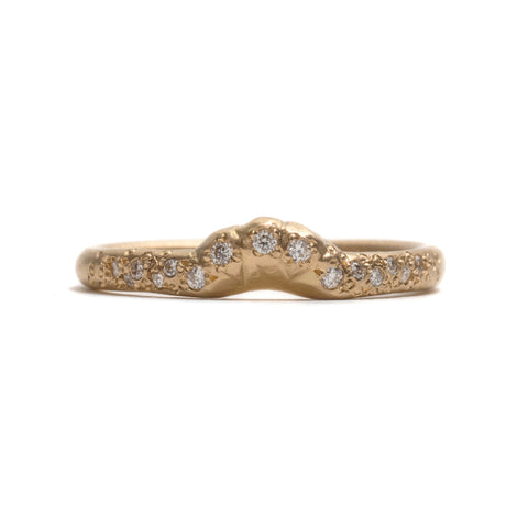 Yellow Gold Little Song Ring