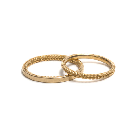 Rope Wedding Ring