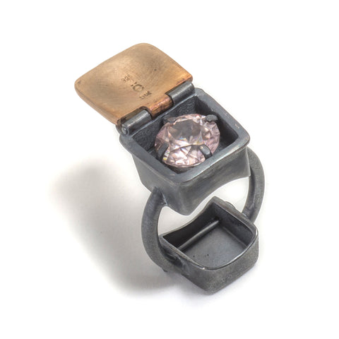Trash and Treasure Ring by Taë Schmeisser
