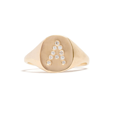 A Signet Ring by Seb Brown