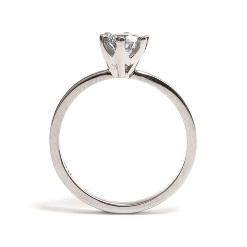 Claw Set Solitaire Ring