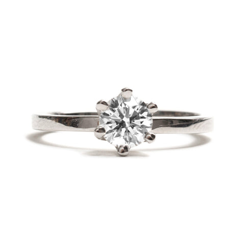 Claw Set Solitaire Ring by Shimara Carlow