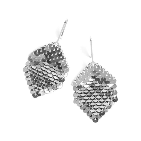 Medium Diamond Earrings