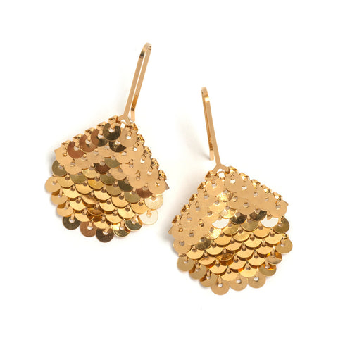 Small Octagon Earrings by Sian Edwards