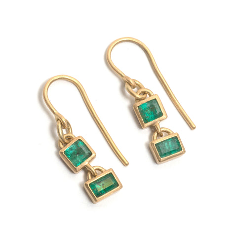 Esmeralda Emerald Earrings by Suzi Zutic