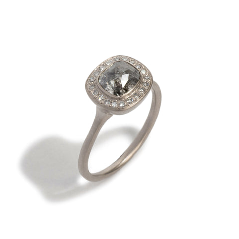 Diamond Halo 2 Ring