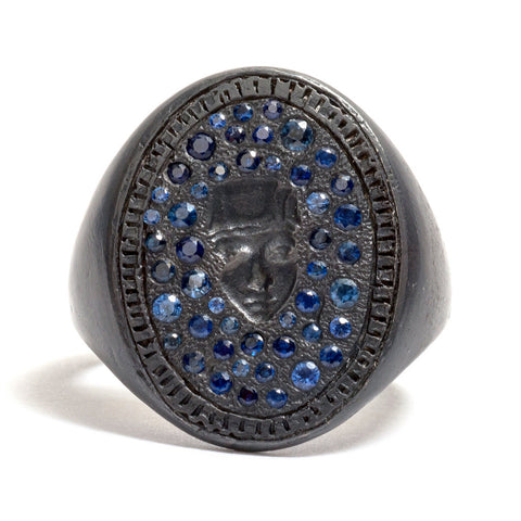 St Catherine Signet Ring by Suzi Zutic