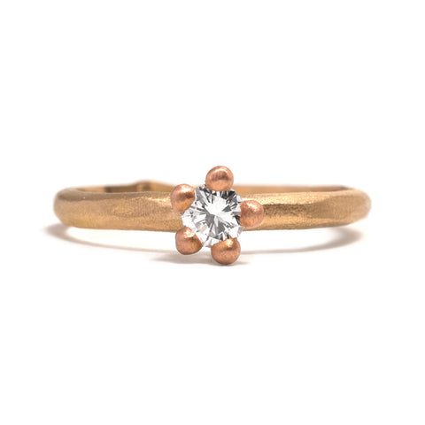 Cherry Blossom Diamond Ring by Taë Schmeisser