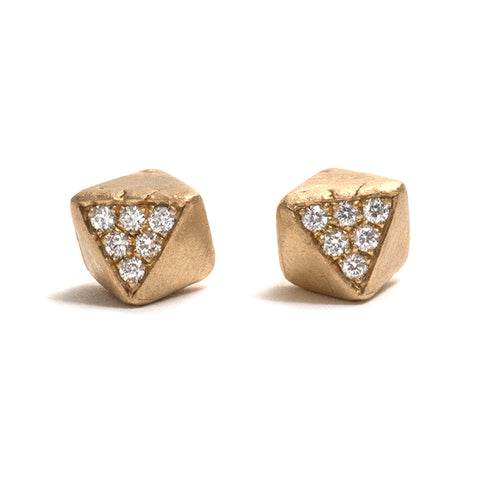 Etta Diamond Stud Earrings