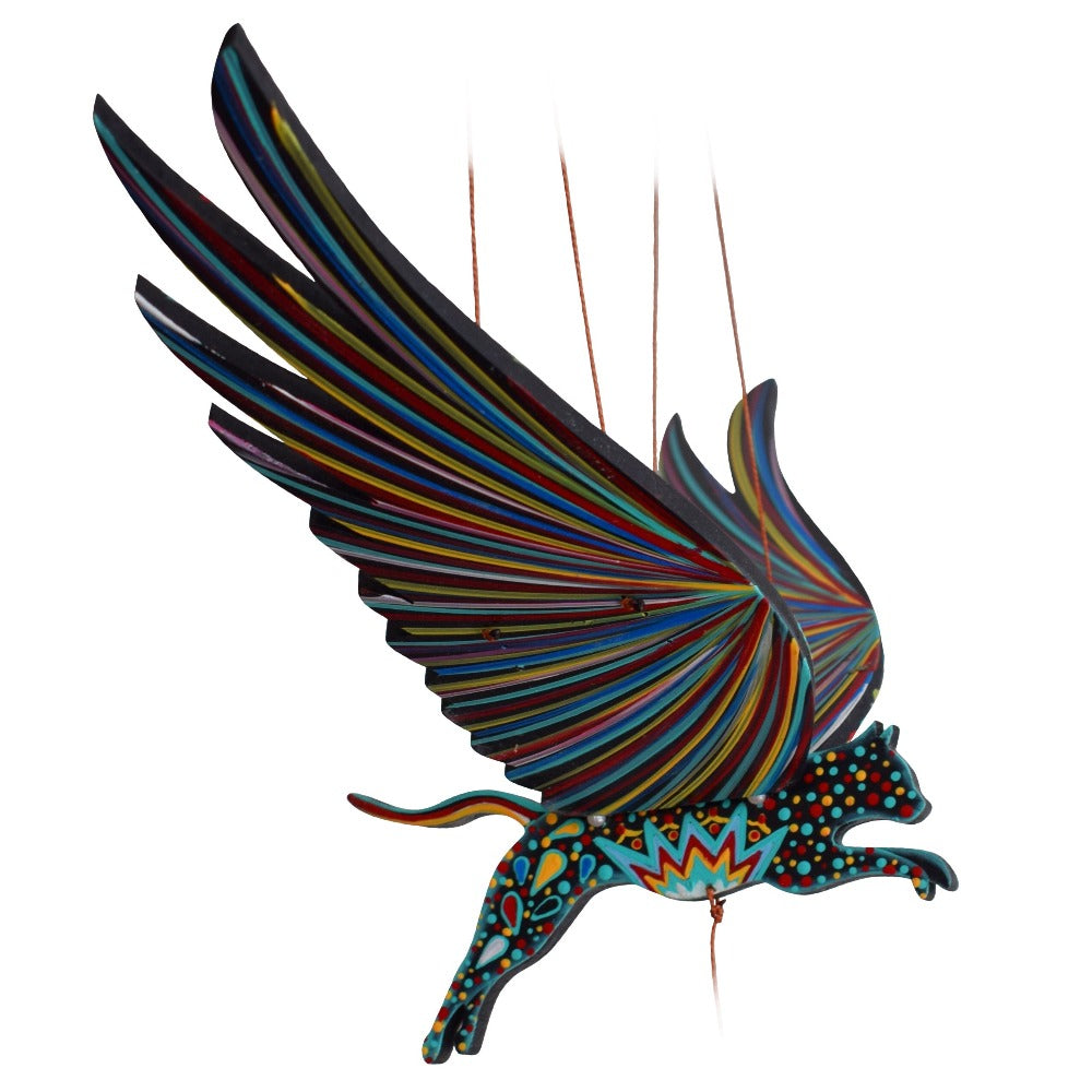 Cat Alebrije Flying Mobile