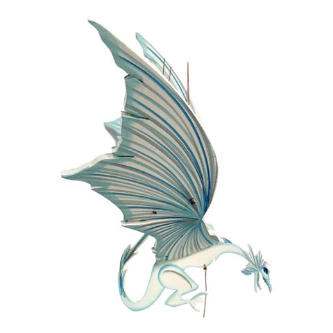 Ice Dragon Lg Flying Mobile - Unique Handmade Gift