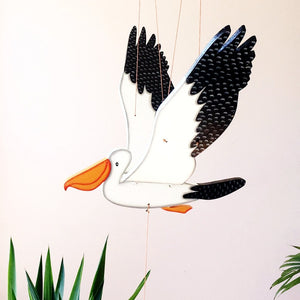 Australian Pelican Unique fair Trade Gift handmade Ethical home decor