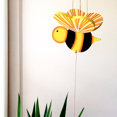 Bumble Bee Flying Mobile - Handmade Gift - Home Decor