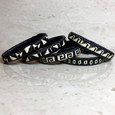 Mini-Bracelets - Black & White
