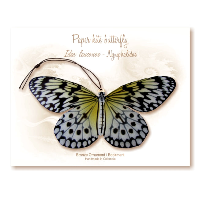 Paper Kite Butterfly Ornament Home Decor Handmade Wholesale Notecard thank you sympathy get well birthday garden gift