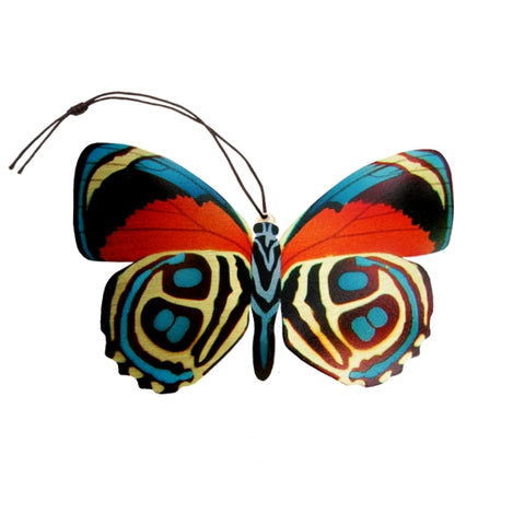 Numberwing Butterfly Ornament (Paulogramma pygas)