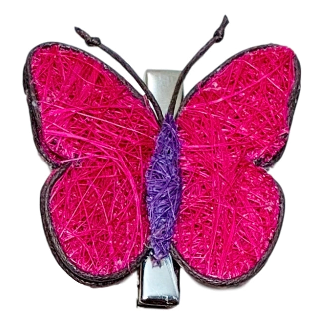 Hair/Scarf Clip - Butterflies - 5 Colors to choose from