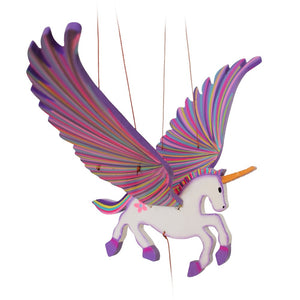 Unicorn Alicorn Flying Mobile - Handmade Gift - Home Decor Fair Trade Wholesale B2B Fantasy