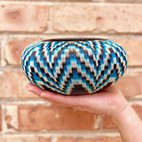 Wounaan Folk Art Vase Basket WV052 - Unique Handmade Gift