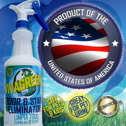 Odor and stain Eliminator cleaners | Viva Green Industries
