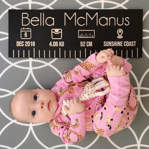 Mini Birth Ruler