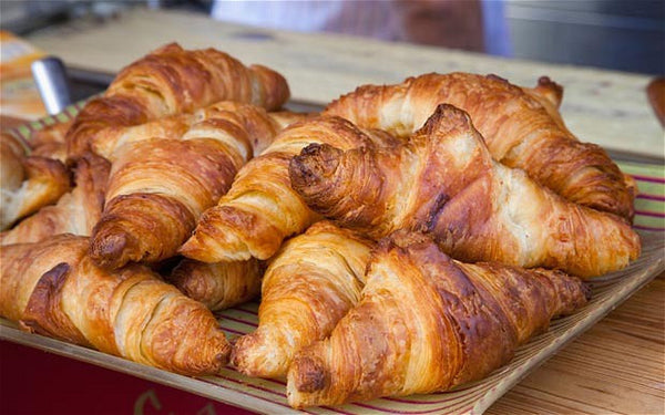 Authentic French Butter Croissants