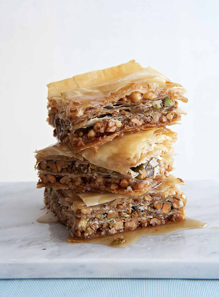 Traditional Greek Baklava (6 Pieces)