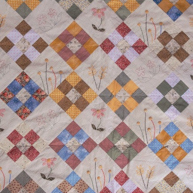 Garden Flowers Quilt (Asian Sizes)