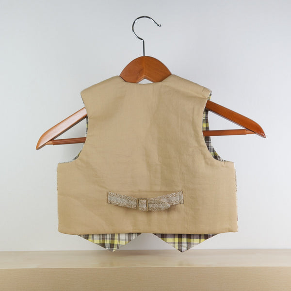Little Gentleman Vest (Tan)