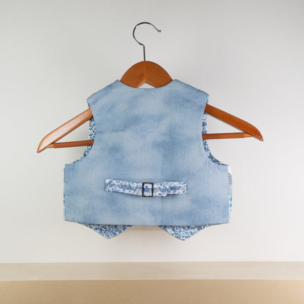 Little Gentleman Vest (Blue)