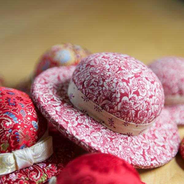 Pink Hat Pin Cushion