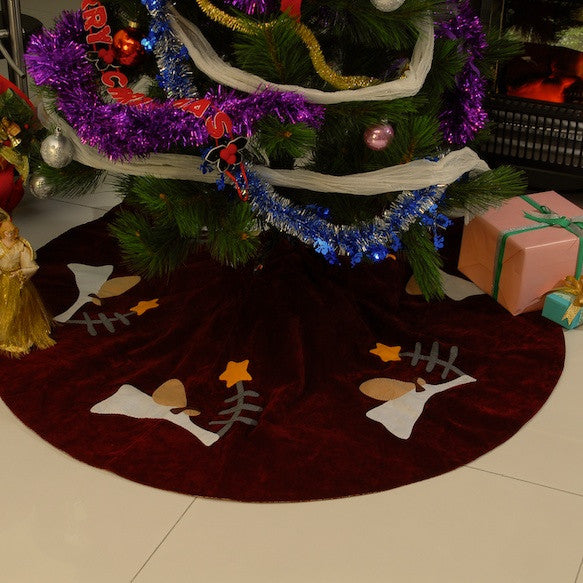Angels Christmas Tree Skirt