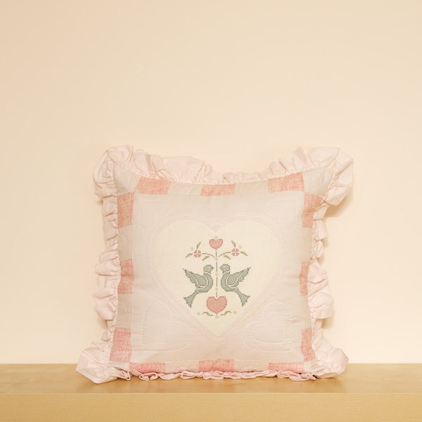 """Doves in Love"" Cushion Cover"