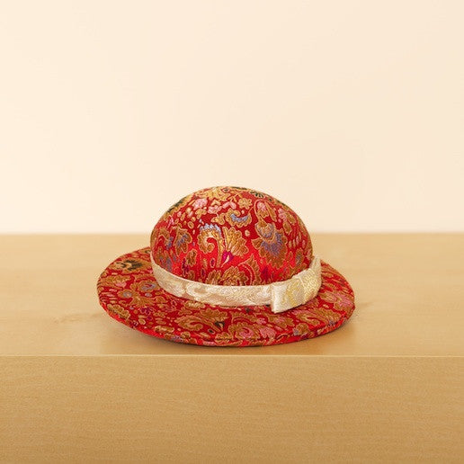 Large Pattern Hat Pin Cushion