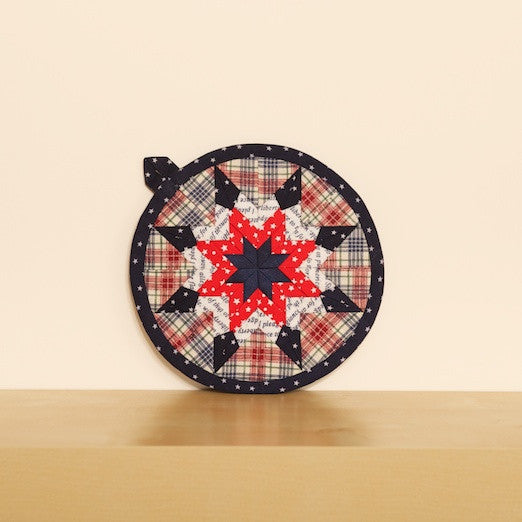 Star Patchwork Pot Holder