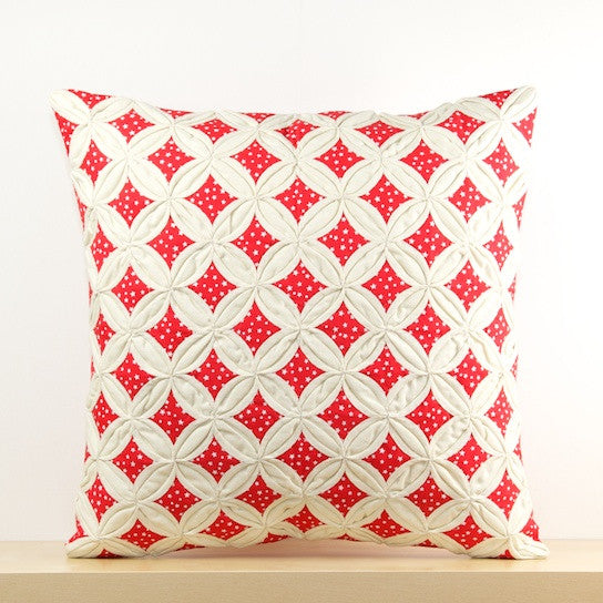 Coin Checkers Cushion Cover