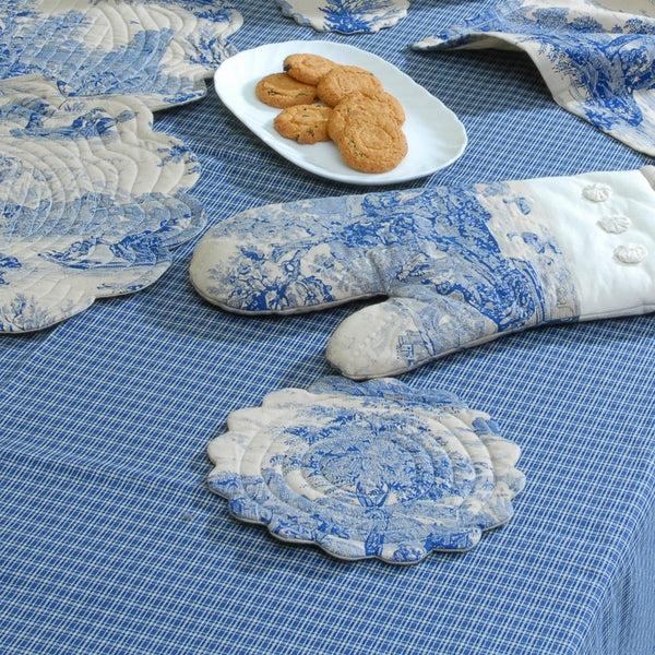 Toile Pot Holder