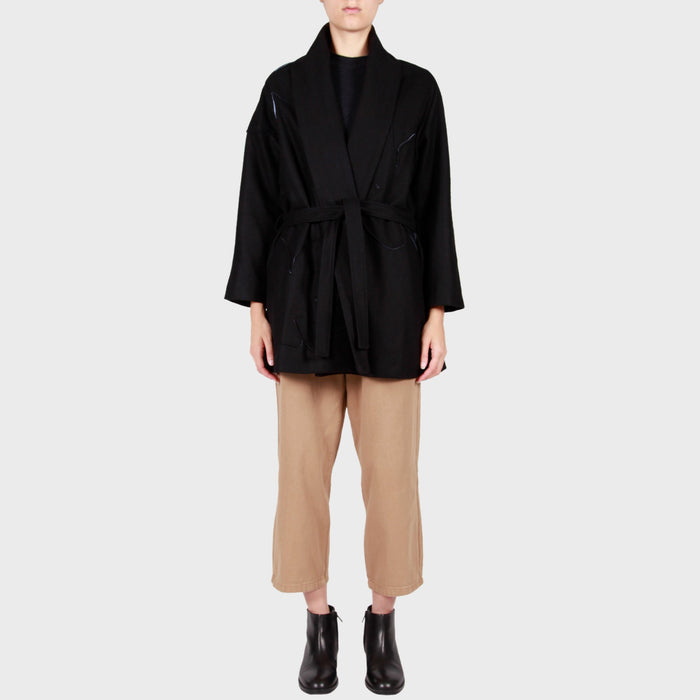 INKA COAT / BLACK
