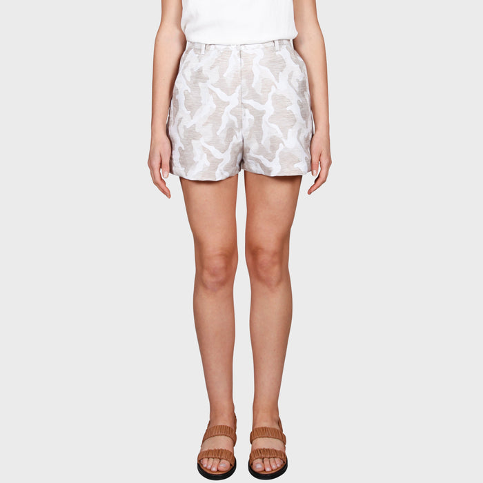 ESHA SHORT / CREAM-BEIGE