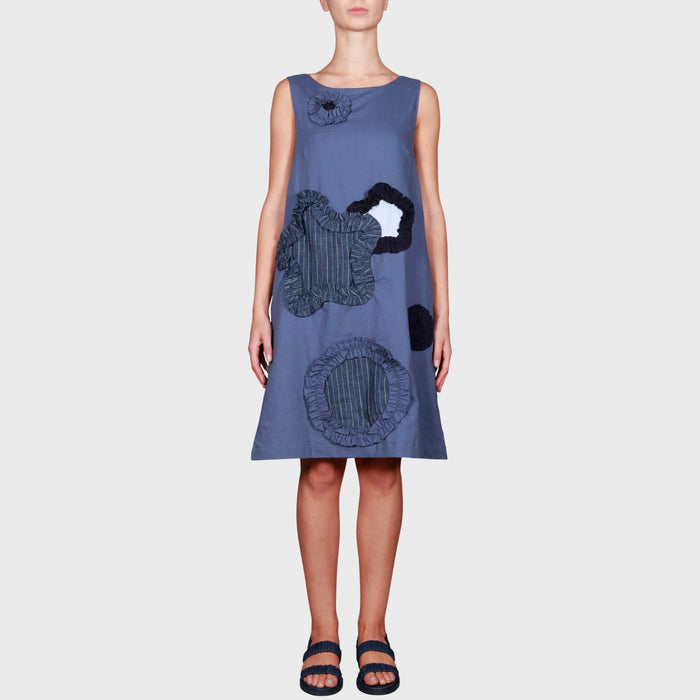 RISHI DRESS / BLUES