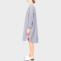 COHEN DRESS / NAVY-WHITE