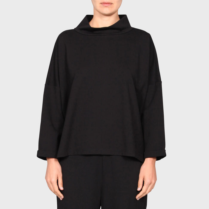 ZAINA SWEAT / BLACK
