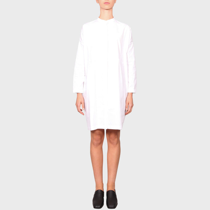 HERTHA DRESS / WHITE