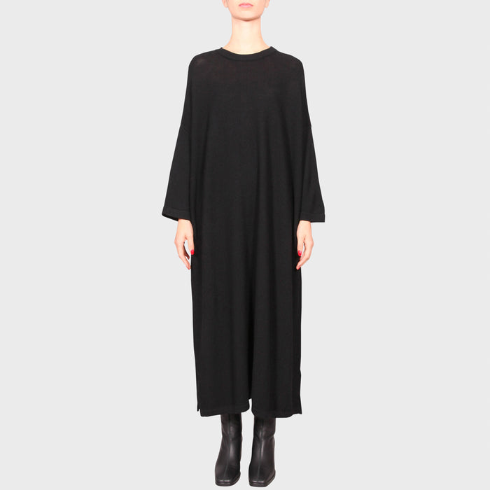 MARCELLE KNIT DRESS / BLACK
