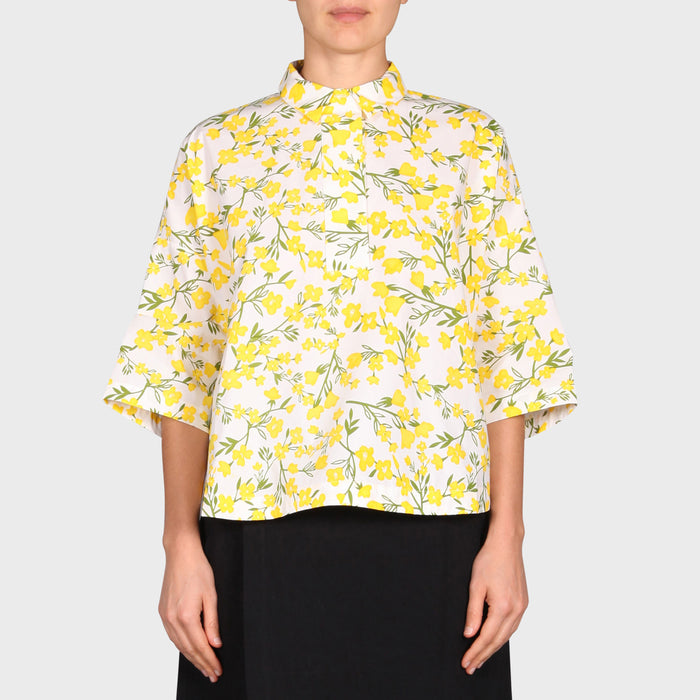 EVE SHIRT / YELLOW FLORA