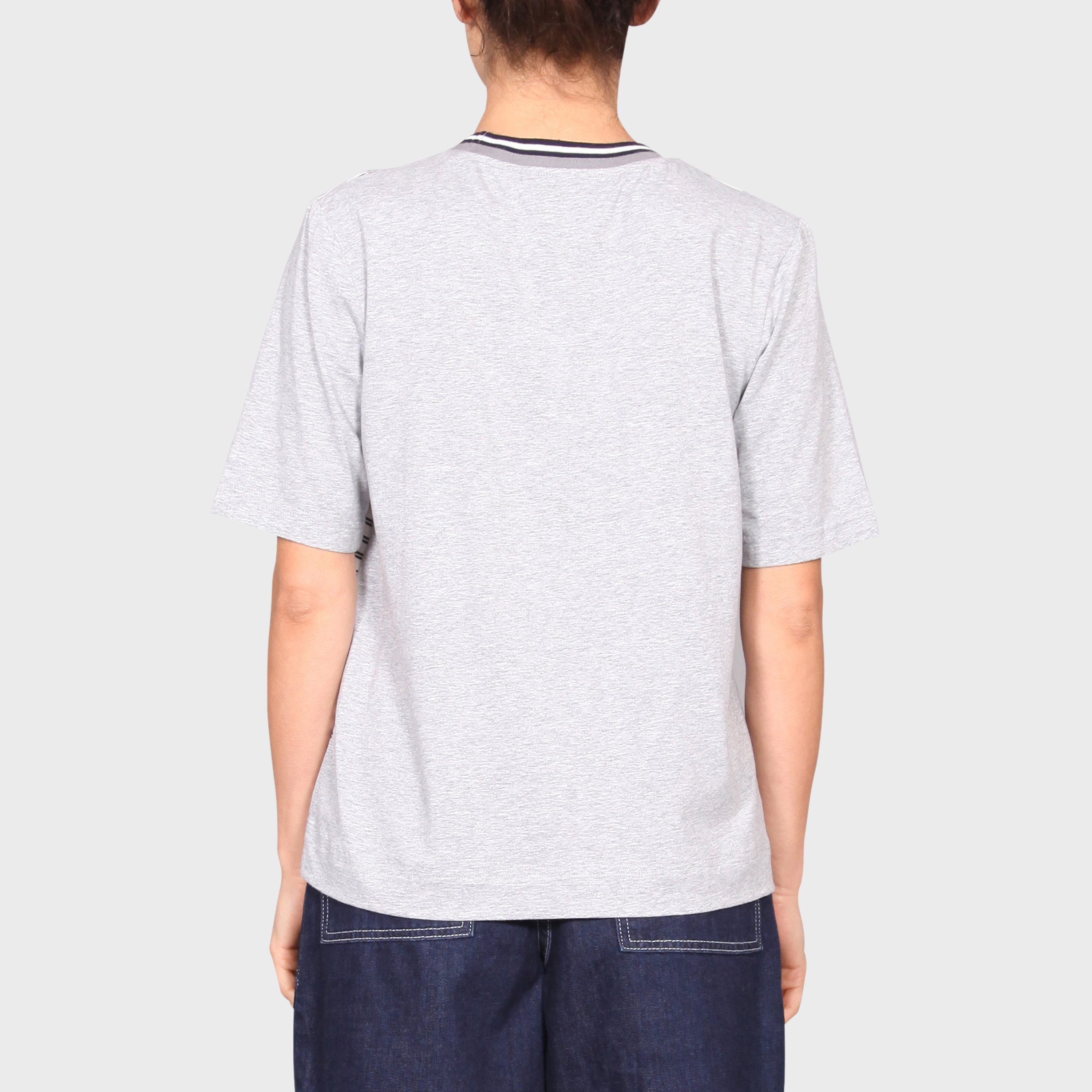 VI TOP / WHITE-NAVY-GREY