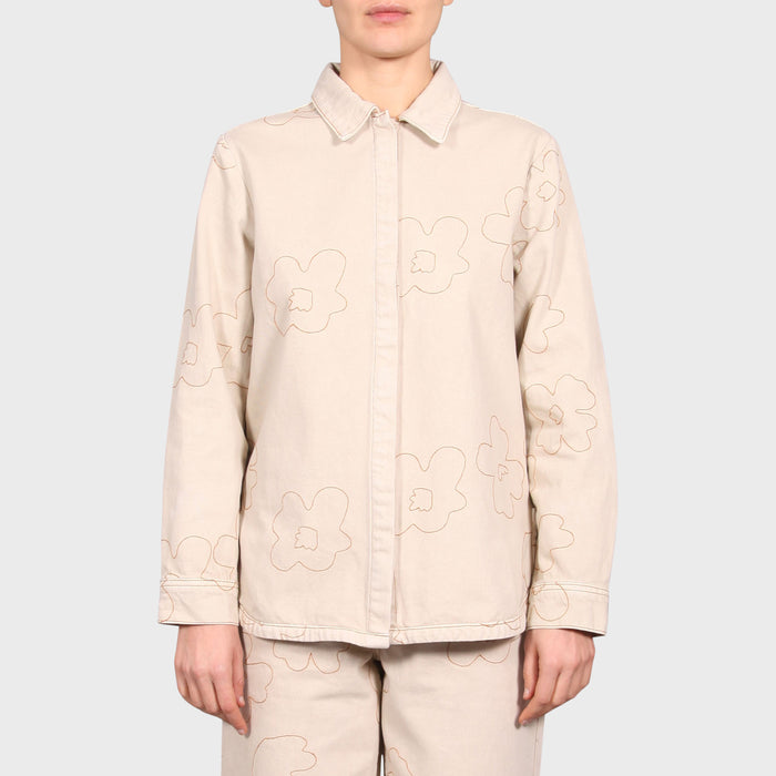 MARA SHIRT / CREAM-TAN